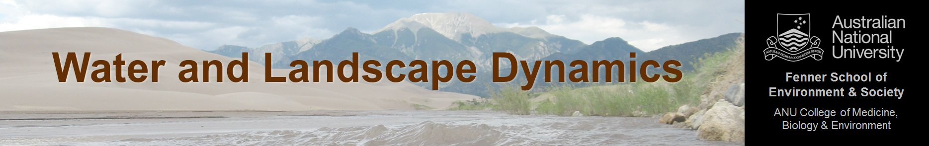 Water and Landscape Dynamics Group